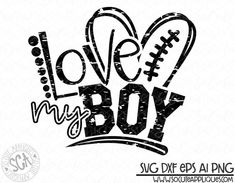 Download Football Decal Svg Cuttable Designs   Cameo Stuff ...