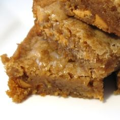 Homemade Butterscotch Blondies1/2 cup (1 stick) salted butter, browned 1 cup dark brown sugar 1 large egg 1 teaspoon vanilla extract 1 and 1/4 cup all-purpose flour 1 teaspoon baking powder 1/4 teaspoon salt 3/4 cup butterscotch chips
