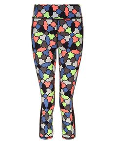 Dinosaurs Skeletons Silhouettes Yoga Tights Short Running Pants Workout