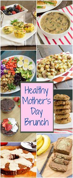 Mother's Day Brunch Ideas - healthy brunch ideas that can be made ahead of time | www.PancakeWarriors.com