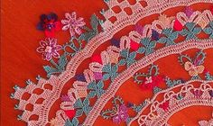 World Embroidery -- Turkey Needle Lace, Bobbin Lace, Crochet Scarves, Crochet Hooks, Loom Board, Types Of Lace, Point Lace, Linens And Lace, Beads And Wire