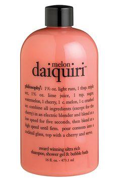 Love this melon daiquiri body wash for bath time | Philosophy.