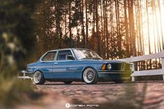 "Car: BMW e21 1980' Colour: Biskaya blau Engine: 1.8 90ps Interior: Orginal Recaro seats Wheels: Wrd Mesh custom 16""x8,5/9,5j Suspension: BC Racing, Weichers sport"