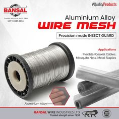 Stainless Steel Wire, Wire Mesh, Aluminium Alloy, Flexibility, Metals, Strength, Unique, Metal Lattice, Back Walkover