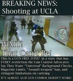 Gun control laws will never work for criminals.