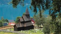 Go to Norway ~ Urnes Stave Church is Norway's oldest wooden church - Photo: Per Eide/Innovation Norway