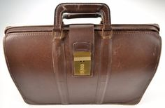 Experienced Vintage Coach Mahogany Brown Leather Triple Gusset Briefbag Trial Case Laptop Ipad Case Bag # 5420 Made in U.S.A.