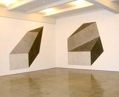Sol LeWitt, Wall Drawing #411D, 1984, and Wall Drawing #411E, 2003