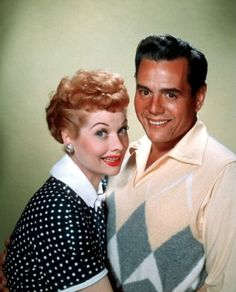 Lucille Ball and Desi Arnaz ~ 1950's