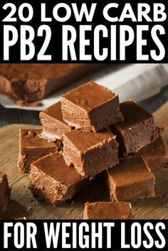 If you're a lover of all things peanut butter, but don't like what it does to your bum, hips, and thighs, this collection of the best . Dessert Weight Watchers, Weight Watcher Smoothies, Plats Weight Watchers, Pb2 Recipes, Protein Powder Recipes, Low Carb Recipes, Peanut Recipes, Powder Peanut Butter Recipes, Peanut Powder
