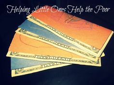 Kid's service project: helping little ones help the poor