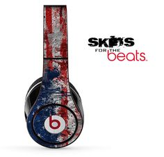 American Graffiti Skin for the Beats by Dre Studio, Solo, MIXR, Pro or Wireless Version Headphones