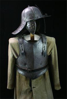 European Half Suit circa 1640