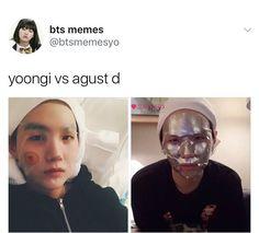 BTS meme | Yoongi Vs Agust D