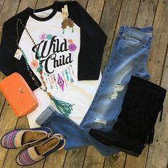 """#NEWARRIVALS  #WildChild #Tee $34.99 #FlyingMonkey #Distressed #skinnyjeans $64.99 25-27 #TheSak #DarkBlue $52.99 6-10 #fringeboots $46.99 6.5-8, 10 #Consuela #CandyCrush #Wallet $142.99 #PinkPanache #Necklace $76.99 & #Earrings $32.99 We #ship! Call to order! 903.322.4316 #shopdcs #goshopdcs #instashop #love"" Photo taken by @daviscountrystore on Instagram, pinned via the InstaPin iOS App! http://www.instapinapp.com (09/24/2015)"