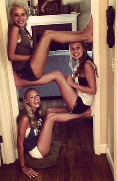 Cool idea for best friends to do together.❤️