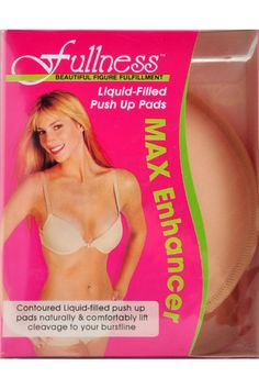 Contoured Liquid filled waterproof push-up pads that add cleavage to your bust. Great for inserting into your fave bra or bikini for extra curves!  Bust Enhancer Pads by BRANDED. Clothing - Lingerie & Sleepwear - Lingerie Accessories San Diego California