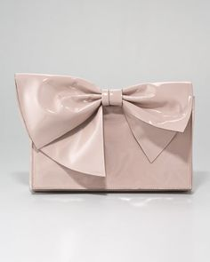 Lacca Bow Clutch Bag by Valentino at Neiman Marcus.