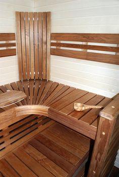 Bastuhörn Outdoor Chairs, Outdoor Furniture, Outdoor Decor, Outdoor Sauna, Sauna Design, Pooler, Lounge, Cool Stuff, Architecture