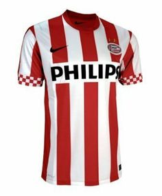 PSV Eindhoven Boys Home Football Shirt 2012-13 by Nike. $58.04. The PSV Eindhoven Boys Home Football Shirt for 2012-13 has been released and is available here at Soccerbox in a range of sizes. The shirt will be worn by the team during home matches for the 2012-13 season. The shirt is in the PSV famous red and white colours in a vertical striped pattern and has short sleeves and a round neck. The neck is red and the sleeves feature a chequered red and white pattern des...