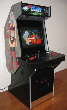 DIY arcade cabinet of Metroid. So awesome... | Nerd! | Pinterest ...