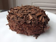 Merveilleux au chocolat, version chocolat noir p