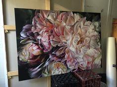 Marcella Kaspar_heartstrings_106cmx152cm_oil on linen_2016 www.marcellakasparart.com