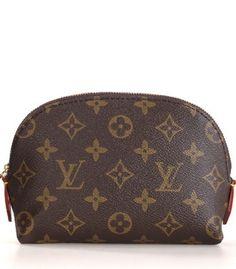 Louis Vuitton Monogram Canvas Cosmetic Pouch M47515 #bags #fashion