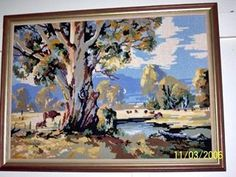 Tapestry of the country Folk Art, Tapestry, Country, Painting, Hanging Tapestry, Tapestries, Popular Art, Rural Area, Painting Art