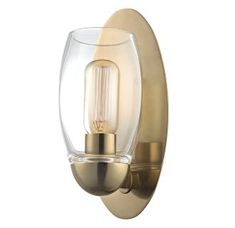 Buy the Hudson Valley Lighting Polished Nickel Direct. Shop for the Hudson Valley Lighting Polished Nickel Pamelia Single Light Tall Bathroom Sconce and save. Filter, Bathroom Wall Sconces, Light Bathroom, Bathroom Fixtures, Bathroom Ideas, Bathrooms, Bathroom Lighting, Brass Sconce, Modern Sconces