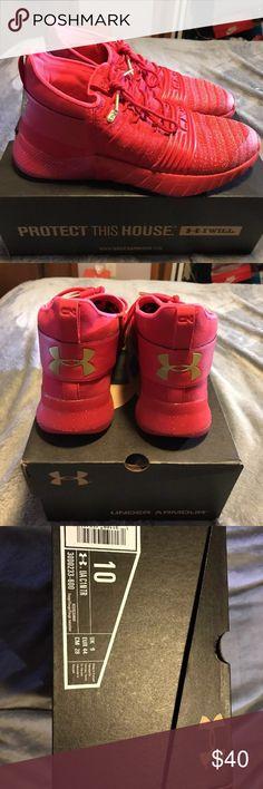 SALE‼️ UA C1N TR Shoes size 10 Cam newton training shoes size 10 Worn Under Armour Shoes Athletic Shoes