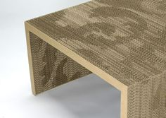 GILES MILLER FLUTED CARDBOARD FURNITURE Giles Miller, corregated cardboard furniture, recycling cardboard, sustainable design, recycled cardboard furniture, cardboard fluting, Farm Designs, farmdesigns.co.uk – Inhabitat - Sustainable Design Innovation, Eco Architecture, Green Building