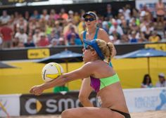 April Ross and Kerri Walsh 2014 Salt Lake City Open | AVP Beach Volleyball