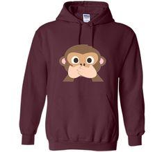 Monkey Emoji T-Shirt Speak No Evil cool shirt