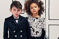 Quelques jours seulement après le défilé homme automne-hiver 2016-2017, la maison Balmain vient d'annoncer la création de sa première ligne pour enfants. Aux commandes, Olivier Rousteing, qui dévoilera une première collection dès le mois de juin 2016.