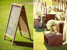 image of Rustic Wedding Decor Recepción