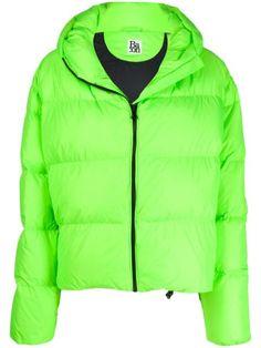 Bacon Cloud Padded Jacket In Green Padded Jacket, Green Jacket, Neon Green, World Of Fashion, Size Clothing, Baby Design, Bacon, Windbreaker, Women Wear