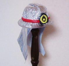 キラキラ輝く消防士の帽子〜本物みたいな手作り変身アイテム〜