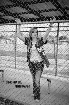 Senior softball photos danyelle tiffany ashland