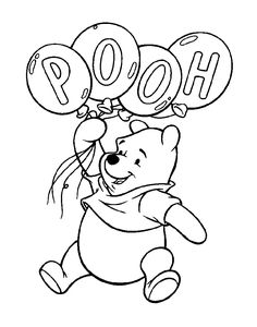 Winnie the Pooh Coloring Pages . 30 Winnie the Pooh Coloring Pages . Free Printable Winnie the Pooh Coloring Pages for Kids Bear Coloring Pages, Cartoon Coloring Pages, Coloring Pages For Kids, Coloring Books, Kids Coloring, Online Coloring, Disney Coloring Sheets, Free Coloring Sheets, Printable Adult Coloring Pages