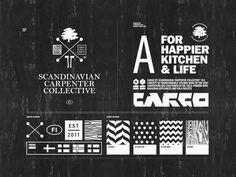 Scandinavian Carpenter Collective by BOND , via Behance