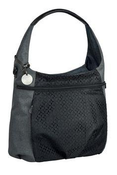 Ein besonders praktischer Begleiter von LÄSSIG - die Casual Hobo Bag in Black