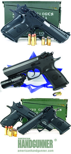 Magnum Research Baby Desert Eagle II   A Defensive Handgun Born of Combat   By Will Dabbs, MD   The Baby Desert Eagle II is a rugged combat handgun. The version we tested is chambered for .45 ACP and built around a steel frame for unrivalled durability. Like the Israelis who birthed it, the Baby Desert Eagle II is a no-nonsense warrior.   © American Handgunner 2017
