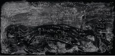 Lelia home is pretty much by the chalkboard trying to always get her brain going