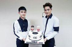 D.O and Kai EXO - EXO-L website update Happy birthday D.O & KAI
