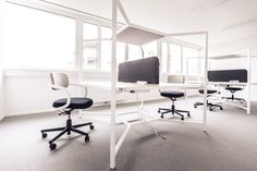 Büroplanung und Einrichtung von Home Office bis Open Space Home Office, Hub, Offices, Modern, Conference Room, Space, Furniture, Home Decor, Swivel Chair