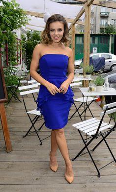 Edyta Herbuś Soft Gamine, Tv Presenters, Bikini Fashion, Strapless Dress, Singer, Actresses, Celebrities, Bikinis, Sexy