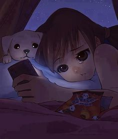 Explore amazing art and photography and share your own visual inspiration! Bear Wallpaper, Cute Wallpaper Backgrounds, Cute Cartoon Wallpapers, Anime Triste, Sad Anime Girl, Anime Art Girl, Winter Wonderland Wallpaper, Alone Art, Sad Drawings
