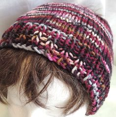 Messy Bun/Ponytail Hat Purple, Lavender, Navy Blue, Tan, Grey, Knit Unisex Adult Size by AuldNouveau on Etsy