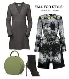 """LIZ"" by elizabethhorrell ❤ liked on Polyvore featuring ESCADA, Giuseppe Zanotti and The North Face"